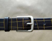 Bespoke leather belts