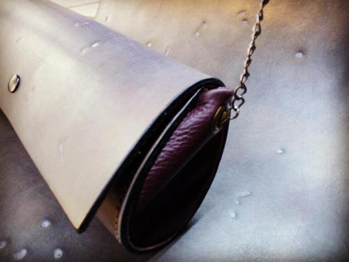 borsetta pochette skinclò italian handcrafted