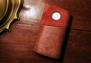 bat-glo-device-leather-cover-handmade