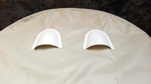 cuffia copertura ruota timone Skinclò rivestimento protezione ruota timone cuffia antipioggia timone cuffia timone