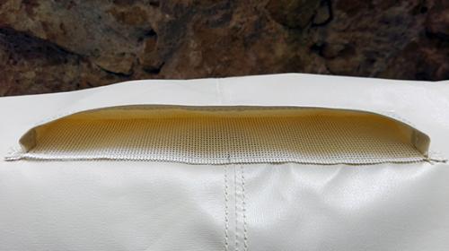 cuffia copertura ruota timone Skinclò rivestimento protezione ruota timone cuffia antipioggia timone protezione barca a vela