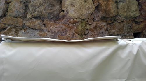cuffia copertura ruota timone Skinclò rivestimento protezione ruota timone cuffia antipioggia timone vela protezione timone