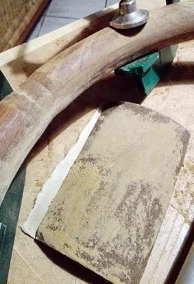 restauro volante timone legno Skinclò